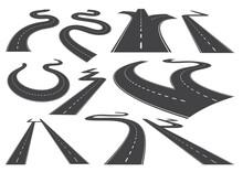 Bending Roads, High Ways Or Ro...