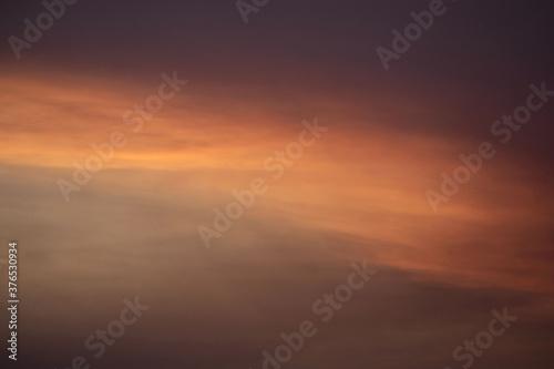 Fototapeta Oklahoma sky at sunrise obraz