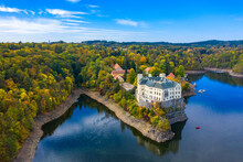 Aerial View Chateau Orlik, Abo...
