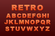 Retro Light Text, Great Design...