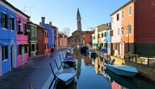 The Leaning Bell Tower Burano,...