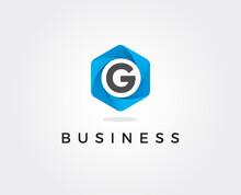 Minimal Letter G Logo Template...