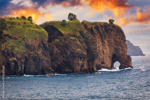 Fototapeta Pedras Negras viewpoint, São Miguel, Azores Islands