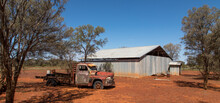 Australian Outback Scene With ...