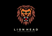 Unique Creative Lion Head Masc...
