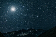 The Star Indicates The Christm...