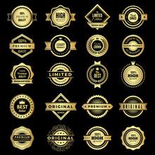 Badges Collection. Premium Pro...