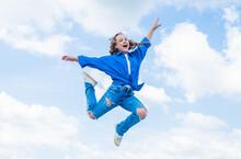 Kid Jump Outdoor. Kid Fashion ...