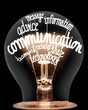 Light Bulb with Communication Concept