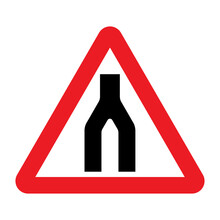 End Of Dual Carriageway Road S...