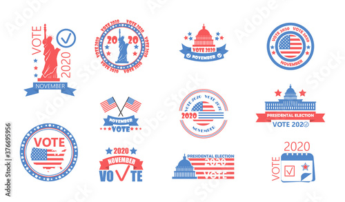 Photo 2020 United States of American Presidential Election in November 3