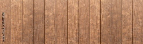 Slika na platnu Panorama of Wood plank brown timber texture and seamless background