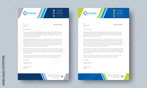 Photo Corporate and Business Latter Head Template Layout