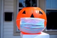 Coronavirus Halloween Pumpkin....