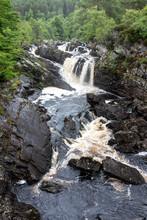 Rogie Falls Near Inverness, Morning