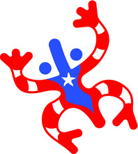 Vector Illustration Of The Taino Coqui Frog Symbol