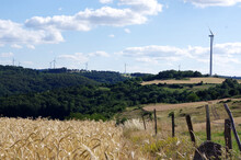 Vue Sur Des éoliennes