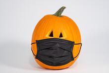 Carved Halloween Pumpkin Weari...