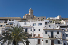 Ibiza Buildings On Hill