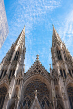 Saint Patricks Cathedral, Manhattan, New York City, USA