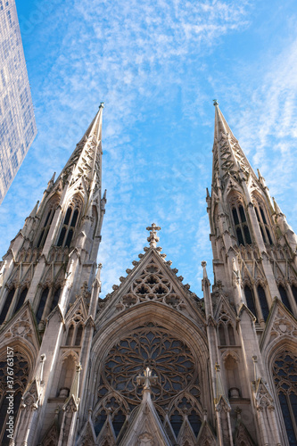 Saint Patricks Cathedral, Manhattan, New York City, USA - 376763157