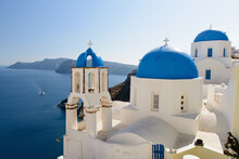 Church, Oia, Santorini, Greece