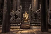 Bagaya Monastery, Inwa, Mandalay, Burma