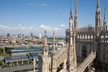Milan Cathedral And Cityscape,...