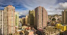 View Of Down  Town La Paz, Bol...