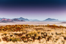 Landscape At Dawn In Namibrand Nature Reserve , Namibia
