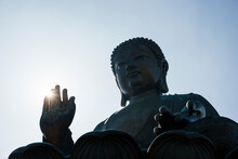 The Big Buddha Statue, Po Lin ...