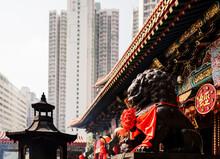 Exterior Of Wong Tai Sin Templ...