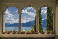 View From Arched  Arcades Of V...