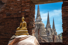 Wat Phra Si Sanphet, Ayutthaya...