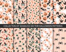 Collection Of 10 Seamless Hall...