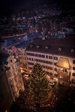 Elevated View With Tree In Chr...