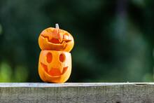 Halloween Pumpkins Or Jack-o-l...