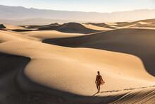 Woman Walking Alone, Mesquite ...