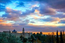 Tower Of David At Sunset, Jeru...