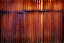 Rusted Metal Wall Texture Corr...