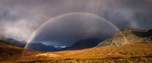 Scenic View Of Rainbow In Tomb...