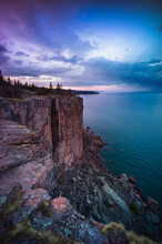 View Of Palisade Head Along La...