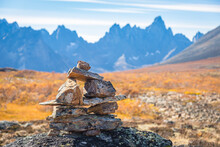 View Of Inuksuk Trail Marker I...