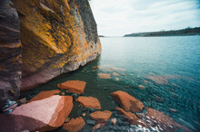 Scenic View Of Beaver Bay On Lake Superior
