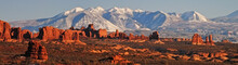 View Of La Sal Mountains And T...