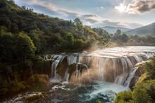 View Of Strbacki Buk Waterfall...