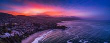 View Of Laguna Beach City Duri...