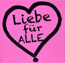 """Herz Mit Inschrift: """"Liebe Fü..."""