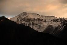 Snowcapped Mountain In Telluride, Colorado