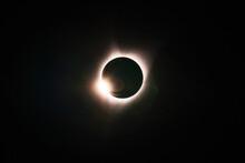 Solar Eclipse In Lincoln City, Oregon